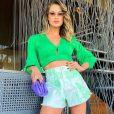 Inspire-se em mais um look de Andressa Suita: short godê é a trend do verão!