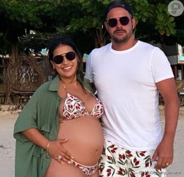 Dupla de Simaria, Simone terá filha nos Estados Unidos