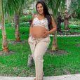 Simone está nos EUA com a família para nascimento da filha