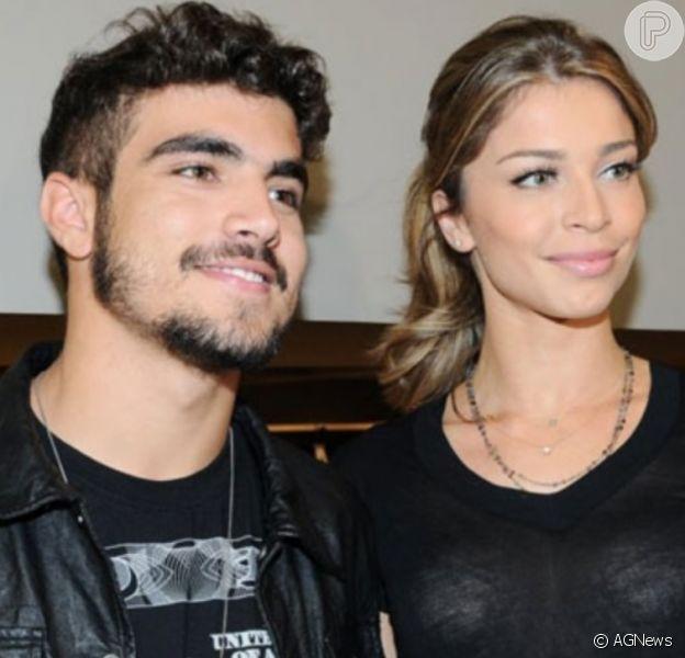 Grazi Massafera e Caio Castro estão juntos há quase dois anos