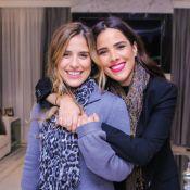 Grávida, Camilla Camargo exalta relação com Wanessa no aniversário da irmã: 'Melhor amiga'