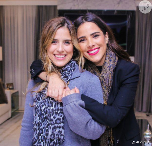 Camilla Camargo destacou parceria com a irmã, Wanessa Camargo, que faz 38 anos neste 28 de dezembro de 2020