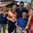 Família de Zezé Di Camargo se recupera da perda de seu Francisco, que morreu em novembro de 2020