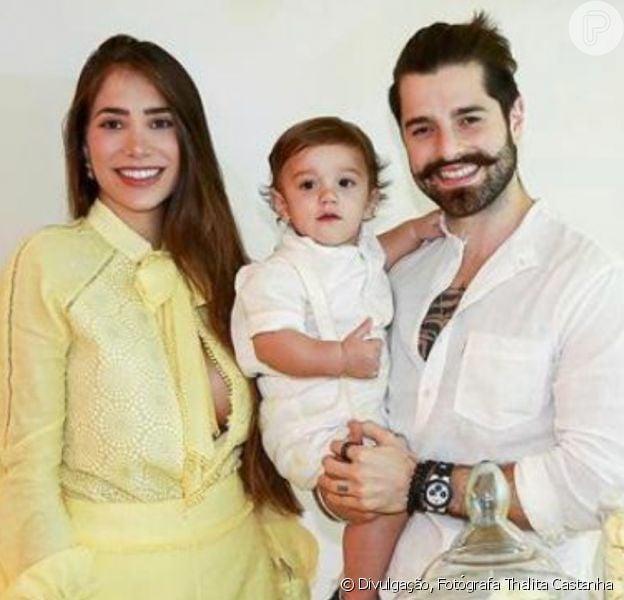 Filho de Alok e Romana Novais, Ravi ganha festa com tema 'sol' em seu 1º aniversário