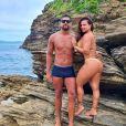 Viviane Araujo namora o empresário Guilherme Militão há um ano