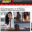 'Mundo Deportivo', da Espanha, exaltou título de Bruna Marquezine