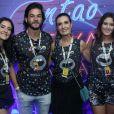 Filha de Fátima Bernardes, Bia Bonemer exaltou boa relação com Túlio Gadelha