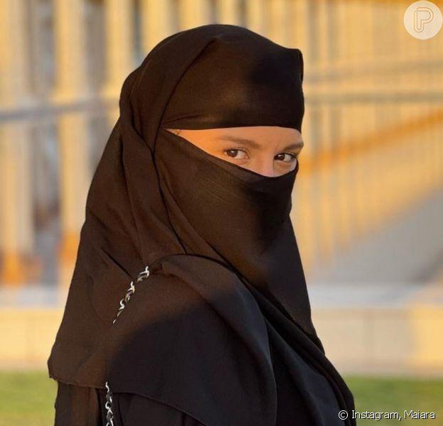 Maiara curte viagem a Dubai, nos Emirados Árabes