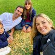 Ticiane Pinheiro  não poupou elogios ao marido, Cesar Tralli
