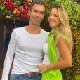 Ticiane Pinheiro e Cesar Tralli    são muito companheiros na relação