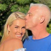 Ana Hickmann e Alexandre Correa festejam 23 anos de casados e famosos tietam: 'Lindos'