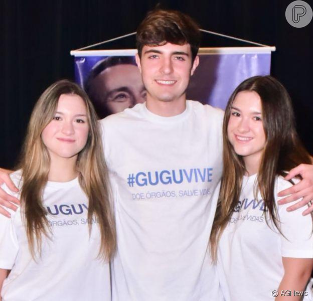 Filha de Gugu Liberato, Marina disse que não irá expor a família