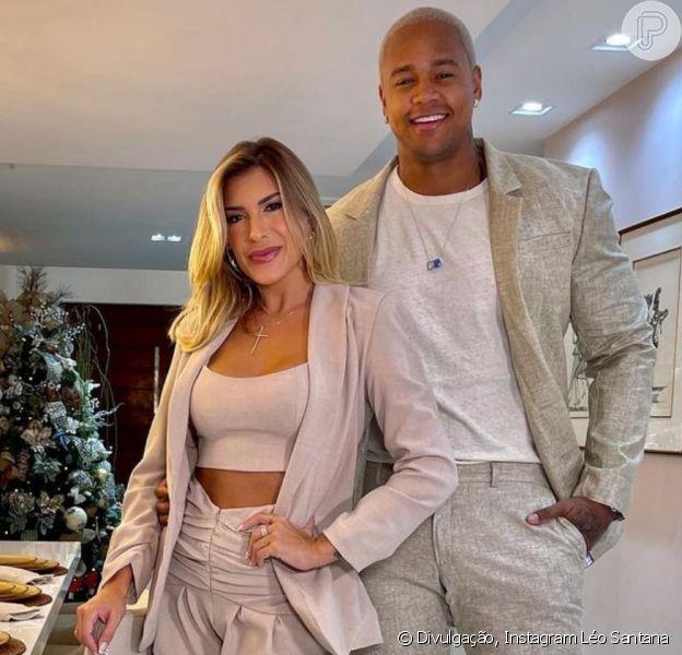 Lorena Improta e Léo Santana se casaram neste sábado, 20 de fevereiro de 2021