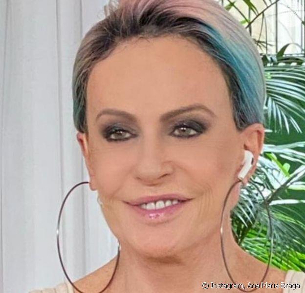 Ana Maria Braga repetiu roupa de 1999, homenageou Tom Veiga, o Louro José, e se rendeu a meme envolvendo Karol Conká do 'BBB 21' ao retornar aos estúdios do 'Mais Você' em SP após 12 anos