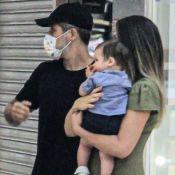 3º filho de Giovanna Ewbank e Bruno Gagliasso usa visual estiloso passeio no shopping