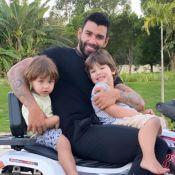 Andressa Suita tieta foto de Gusttavo Lima com filhos e fãs opinam: 'Faltou você'