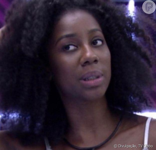 No 'BBB 21', Camilla de Lucas tira tranças e famosas elogiam cabelo natural na web: 'Linda'