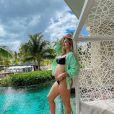 Virgínia Fonseca está grávida de 8 meses da primeira filha com Zé Felipe e vai dar à luz no Brasil