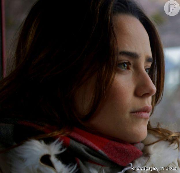 Novela 'A Vida da Gente': Ana (Fernanda Vasconcellos) acorda do coma e surpreende Lúcio (Thiago Lacerda). 'Milagre!'