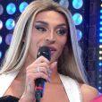 Em show no 'BBB 21', Pabllo Vittar mostrou um anel e contou que a joia era compromisso de noivado
