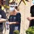 Tatá Werneck usou duas máscaras e um protetor facial para se proteger da Covid-19, doença que vitimou Paulo Gustavo