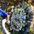 Luciano Huck e Angélica enviaram uma coroa de flores a Paulo Gustavo