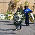 Paulo Gustavo recebeu muitas coroas de flores de amigos e familiares