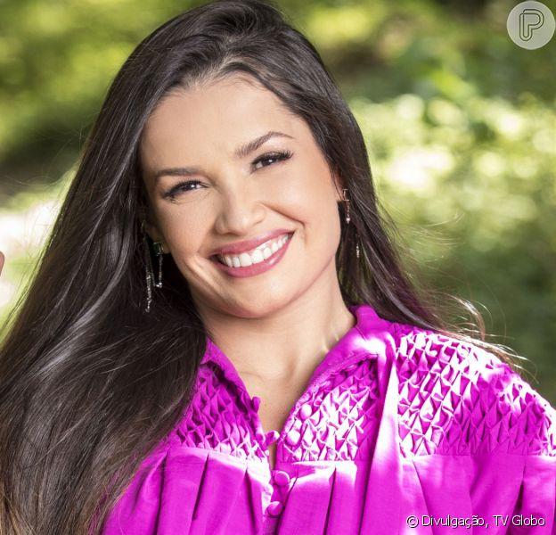 Juliette participou do programa 'Domingão do Faustão' deste domingo, 9 de maio de 2021