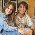 Igor Jansen respondeu ao ser questionado se namora Sophia Valverde: ' Não! Eu já pedi várias vezes e ela é que não aceitou!'