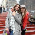 Bruna Marquezine e Tatá Werneck engataram amizade nos bastidores da novela 'I Love Paraisópolis', da TV Globo