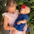 Primeira boneca de Vicky é presente da irmã Rafa Justus, filha de Ticiane