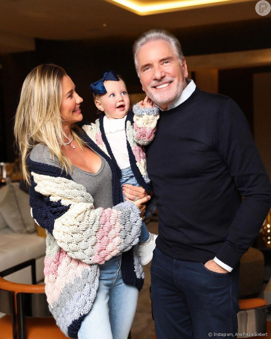 Vicky é a filha caçula de Roberto Justus com Ana Paula Siebert