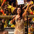Isis Valverde interpretou a cantora de axé Serena na minissérie 'O Canto da Sereia'