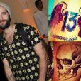 Bruno Gagliasso adora tatuar o corpo, a última que fez foi uma caveira no antebraço direito. No braço esquerdo ele tem o número 13 com asas vermelhas e a palavra 'sincronicidade'