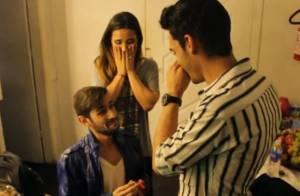 Wanessa é surpreendida com pedido de namoro de fãs em seu camarim: 'Madrinha'