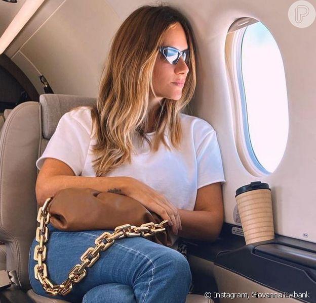 Giovanna Ewbank contou que saiu do Brasil com a família