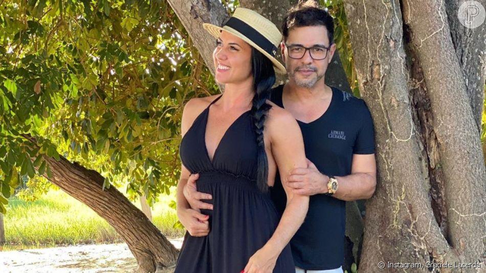 Graciele Lacerda e Zezé Di Camargo deixaram seguidores confusos com noivado