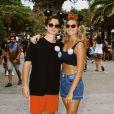 Sasha Meneghel e o marido, João Figueiredo, se casaram em maio de 2021 e estão curtindo dias de lazer na Disney