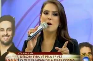 'A Fazenda 7': Débora Lyra diz que vai fazer o namorado, Marlos, vencer reality