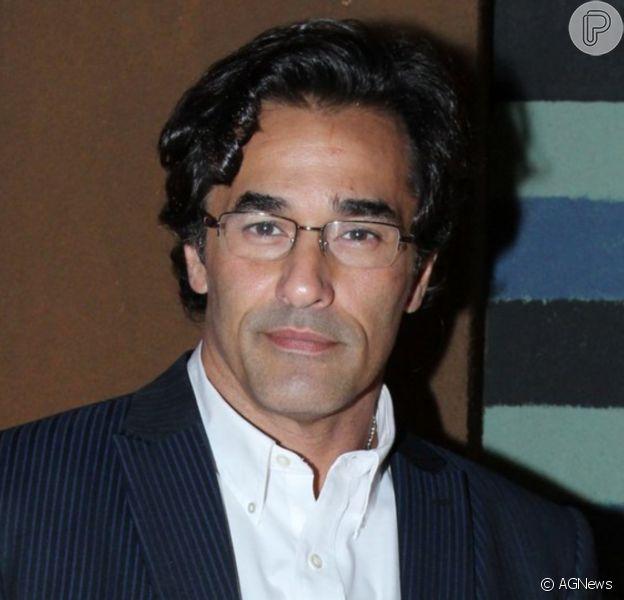 Luciano Szafir está internado após testar positivo para a Covid-19 pela 2ª vez