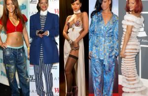Do ousado ao comportado: reveja alguns looks de Rihanna e inspire-se!
