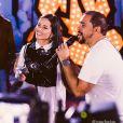 Juliette participou de live com o cantor Xand Avião