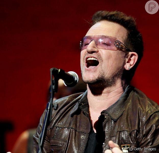 Bono Vox sofre nove faturas no braço e coloca três placas de metal e 18 parafusos