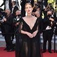 Marina Ruy Barbosa apostou em um look preto longo para evento de filme em Cannes