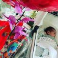Mulher de Fábio Assunção compartilha foto rara de filha de dois meses sorrindo