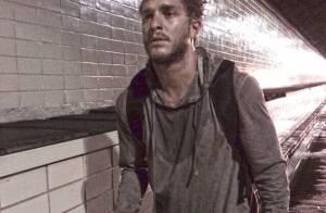 Klebber Toledo grava cenas da novela 'Império' como mendigo. Veja fotos!