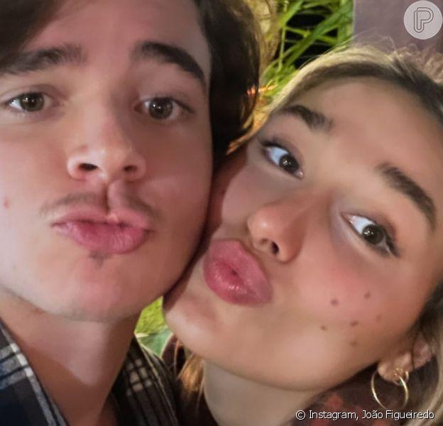 Sasha e o marido, João Figueiredo, recriam foto feita antes do namoro: 'Nunca imaginei'