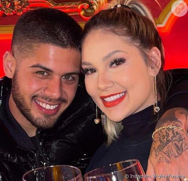 Virgínia Fonseca fica sem graça com resposta de Zé Felipe sobre vida sexual, em 31 de julho de 2021