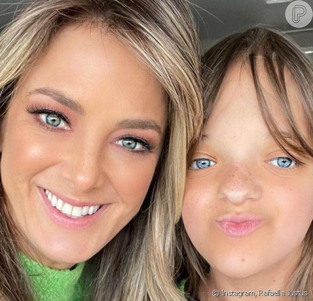 Filha de Ticiane Pinheiro, Rafaella Justus celebra 12 anos com festa, em 7 de agosto de 2021