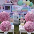 Rafaella Justus ganha festa c om o tema    Fidget     Toys   em tons pastéis